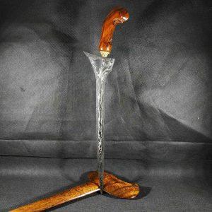Keris Brojol Pamor Pedaringan Kebak Sepuh Kuno