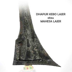 Dhapur Keris Mahesa Lajer