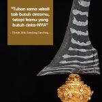 Keris Jalak Sumelang Gandring Pajajaran Kuno
