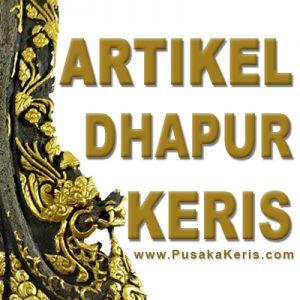Dhapur Keris Jaka Supa