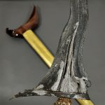 Keris Kyai Sabuk Inten Luk 11 Majapahit Pamor Meteorit