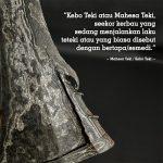 Pusaka Keris Kebo Teki Sepuh Kuno