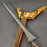 Keris Pamor Miring Toya Mambeg Tangguh Blambangan Kuno
