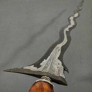 Keris Sengkelat Pamor Akhodiyat Meteorit Mataram Senopaten