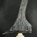 Keris Singkir Tolak Wabah Pagebluk Asli Sepuh Kuno Tangguh Segaluh