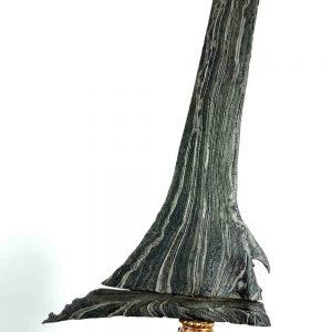 Keris Lurus Tumenggung Pamor Setro Banyu Tuban Sepuh Kuno
