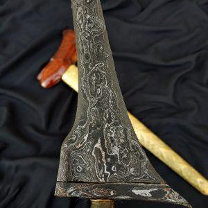 Keris Tilam Upih Pamor Nyutra Nginden Pajajaran Sepuh Kuno