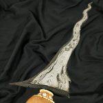 Keris Luk 9 Sempono Pamor Pedaringan Kebak Akhodiyat Meteorit Sepuh
