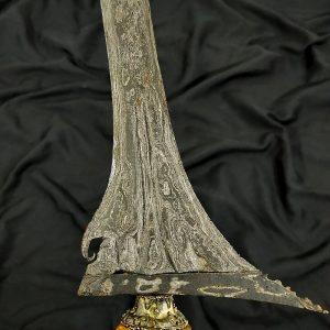 Keris Lurus Dhapur Sinom Tangguh Mataram Abad 17 Sepuh Kuno Tua