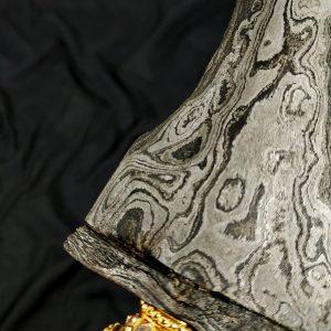 Keris Pamor Meteorit Pedaringan Kebak Byor Ndeling Tuban Empu Suratman
