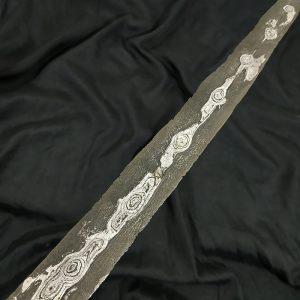 Keris Pamor Wahyu Tumurun Tirto Tejo Dhapur Sempaner Sepuh Kuno