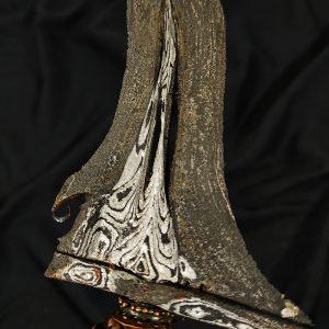Keris Sabuk Inten Majapahit Pamor Banyu Tetes Sepuh Kuno