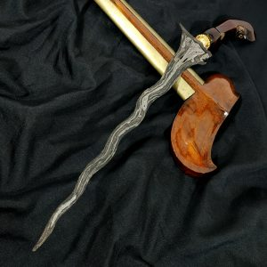 Keris Sabuk Inten Mataram Senopaten Abad 15 Sepuh Kuno