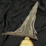 Keris Santan Luk 11 Pamor Singkir Tangguh Melayu Sriwijaya Sepuh Kuno