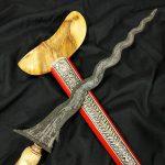 Keris Sengkelat Asli Mataram Abad 17 Sepuh Kuno Tua