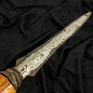 Tombak Biring Jaler Tongkat Komando Mataram Sultan Agung Pamor Nginden
