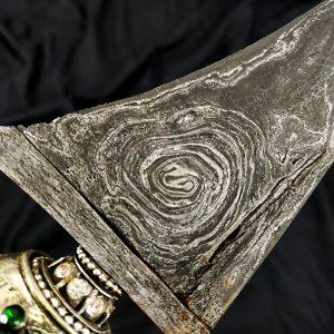 Keris Kebo Lajer Pamor Kol Buntet Langka Asli Sepuh Kuno
