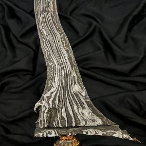 Keris Carang Soka Pamor Singkir Tangguh Blambangan Sepuh Kuno TUS