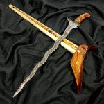 Keris Sabuk Inten Luk 11 Mataram Sultan Agung Sepuh Kuno