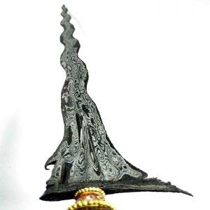 Keris Sengkelat Luk 13 Mataram Sultan Agung Sepuh Kuno