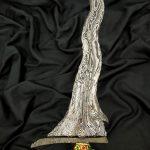 Keris Sengkelat Pamor Wos Wutah Kebak Meteorit Mataram Sultan Agung TUS