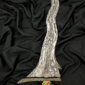 Keris Sengkelat Pamor Wos Wutah Kebak Meteorit Mataram Sultan Agung