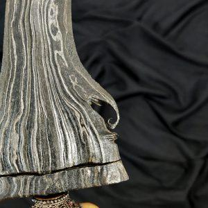 Keris Tundung Madiun Sempono Bungkem Pamor Raja Abala Raja Sepuh