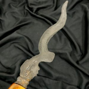 Kujang Lanang Sepuh Pamor Tirto Tumetes Tangguh Pajajaran Kuno