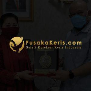 Ketua DPR RI Koleksi 3.000 Keris Pusaka Mendapat Gelar Keraton Surakarta