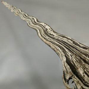 Keris Corok Kalawijan Bima Rangsang Luk 23 Pamor Banyu Mili Sepuh
