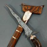 Keris Bugis Pandawa Luk 5 Pamor Pedaringan Kebak Kuno