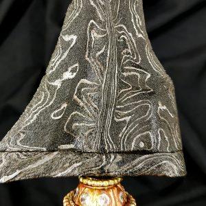 Pusaka Keris Tilam Sari Pamor Miring Kenongo Ginubah Kuno Langka
