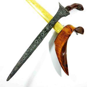 Keris Pamor Wulan-Wulan Era Pajajaran Sepuh Kuno